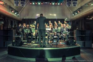 Stageband in Huize Maas